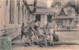 ¤¤   -  CAMBODGE    -  PHNOM-PENH   -  Musiciens Jouant Pour Une Fête Publique    -  ¤¤ - Cambodja
