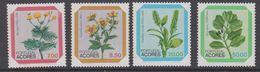 Azores 1981 Flowers 4v ** Mnh (44326) - Açores