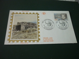 Timbre France  J. Giono Enveloppe Premier Jour First Day Cover Jean Giono 1895/1970 - France