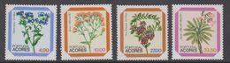 Azores 1982 Flowers 4v ** Mnh (44328) - Azores