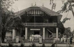 Indonesia, SUMATRA TANJUNGBALAI, Javasche Bank (1910s) RPPC Postcard - Indonésie
