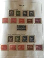 SVIZZERA SWITZERLAND SUISSE SCHWEIZ HELVETIA 1955 1982 NATIONS UNIES ** MNH - Nuovi