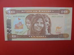 ERYTHREE 10 NAFKA 2012 PEU CIRCULER/NEUF (B.6) - Eritrea