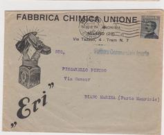 Vecchia Busta  Fabbrica Chimica Milano 1926 - Italy