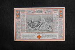 CALENDRIERS - Calendrier De La Croix Rouge En 1916 - L 40302 - Calendriers