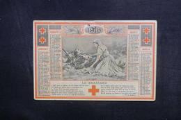 CALENDRIERS  - Calendrier De La Croix Rouge En 1916 - L 40303 - Calendars