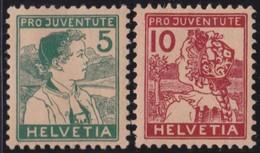 Schweiz    .   Yvert      .     149/150      .       *        .    Ungebraucht    .    /    .     Mint-hinged - Ungebraucht