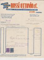 Vecchia Fattura Rossi Ottavio Este Padova  1949 - Italy