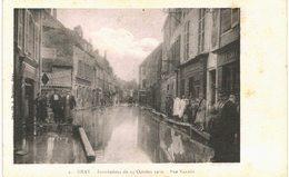 Gray - Inondations De 1930 - 13 Cartes - Quai Mavia, Pont De Pierre,  Bateau Lavoir, Rue Vanoise, Thiers, Gare, Breuil - Gray