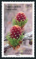 ST-PIERRE ET MIQUELON 2011 - Yv. 994 **   Faciale= 1,05 EUR - Fleurs De Mélèze  ..Réf.SPM11602 - St.Pierre & Miquelon