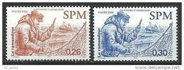 """SPM YT 778 & 779 """" Ramendeur """" 2002 Neuf** - Unused Stamps"""