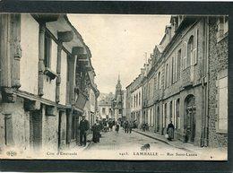 CPA - LAMBALLE - Rue Saint Lazare, Animé - Lamballe