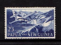 PAPUA  NEW  GUINEA    1963    2/3  Aircraft  Landing  At  Tapini    MH - Papua New Guinea