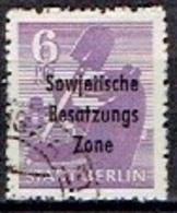 GERMANY  #   SOVJET ZONE FROM 1948  STAMPWORLD 36 - Zone Soviétique