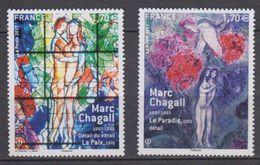 2017-N°5116/5117** M.CHAGALL - France