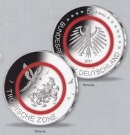 """Bund 5,- Euro 2017 Tropische Zone """"J"""", Sofort Lieferbar - [10] Gedenkmünzen"""