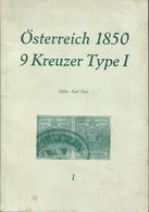 Österreich 1850 - 9 Kreuzer Type 1. Frey, Karl - Philately