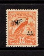 NEW  GUINEA    1931    Bird  Of  Paradise    1/2d  Orange  Overprinted        MH - Papua New Guinea