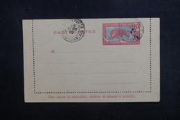 CONGO - Entier Postal ( Carte Lettre ) Type Panthère Non Circulé, Oblitération De Brazzaville En 1919 - L 40310 - Briefe U. Dokumente