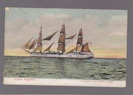 Armada Argentina / La Sarmiento En El Océano Indico / Bateau Voilier - Argentine