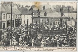 HOUDENG-GOEGNIES - La Kermesse Du Trieu-Houdeng - Le Bal Populaire Traditionnel.1904 - La Louvière