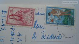D166879  Greece  - Athens Les Caryatides - Stamps 1950-60's - Griekenland