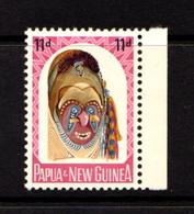 PAPUA  NEW  GUINEA    1964    Native  Artefacts    11d  Watam  Head        MH - Papua New Guinea