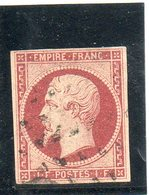 N°18  BIEN MARGE  SANS CLAIR - 1852 Louis-Napoleon