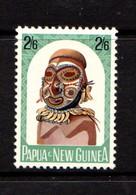 PAPUA  NEW  GUINEA    1964    Native  Artefacts    2/6  Bosmun  Head        MH - Papua New Guinea