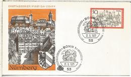 ALEMANIA FDC 1971 NURNBERG ARQUITECTURA - Monumentos
