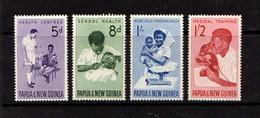 PAPUA  NEW  GUINEA    1964    Health  Services    Set  Of  4        MH - Papua New Guinea