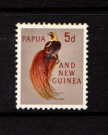 PAPUA  NEW  GUINEA    1963    5d  Yellow  Chestnut  And  Sepia        MNH - Papua New Guinea
