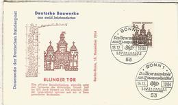 ALEMANIA FDC 1964 ARQUITECTURA ELLINGEN TOR - Monumentos