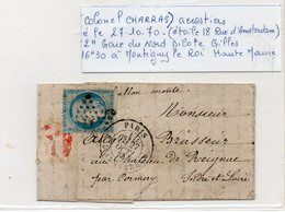 BOLLON MONTE  COTE 400 E - 1870 Bordeaux Printing