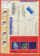 Finland 2006.Registered Envelope Passed The Mail. Block. - Raubkatzen