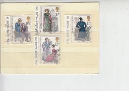 GRAN BRETAGNA 1975 - Unificato 766/69 - J. Austen - Letteratura - 1952-.... (Elisabetta II)