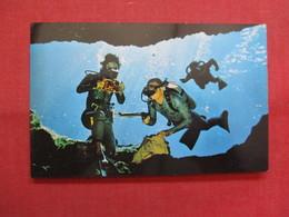 Divers Demonstrate Underwater Scuba Equipment-- Silver Springs - Florida    -ref    3569 - Silver Springs