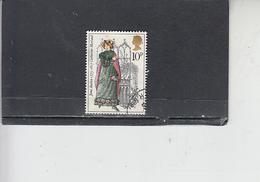 GRAN BRETAGNA 1975 - Unificato 767 - J. Austen - Letteratura - 1952-.... (Elisabetta II)