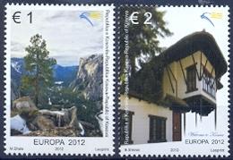KOS 2012-220-1 EUROPA CEPT, KOSOVO, 1 X 2v, MNH - 2012