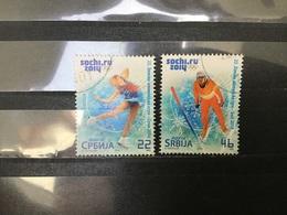 Servië / Serbia - Complete Set Olympische Spelen, Sochi 2014 - Serbia