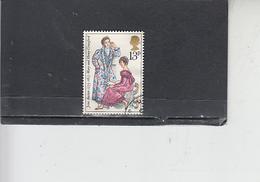 GRAN BRETAGNA 1975 - Unificato 769 - J. Austen - Letteratura - Usati