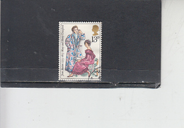 GRAN BRETAGNA 1975 - Unificato 769 - J. Austen - Letteratura - 1952-.... (Elisabetta II)