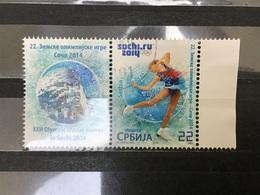 Servië / Serbia - Olympische Spelen, Sochi (met Tab) (22) 2014 - Servië
