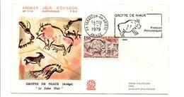 FDC 1979 GROTTE DE NIAUX - FDC