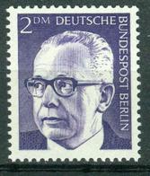 BM Germany, Berlin (West) 1970 MiNr 370 [1971] MNH | President Heinemann - Ungebraucht
