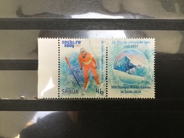 Servië / Serbia - Olympische Spelen, Sochi (met Tab) (46) 2014 - Servië