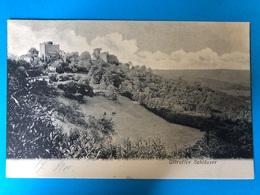Ottrott 1900. Ottrotter Schloss - France