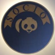 WWF SOCIO / Vetrofania / Adesivo Per Interno Vetri / STICKER - Adesivi