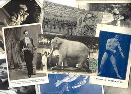 Lot 2019 De 10 CPA CPSM Cirque Cirk Circus Phénomène Déstockage Pour Revendeurs Ou Collectionneurs - Ansichtskarten
