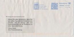 BRD Bad Schwalbach Frankit 2019 Finanzamt Rheingau-Taunus Wappen Hessen Löwe - Briefe U. Dokumente